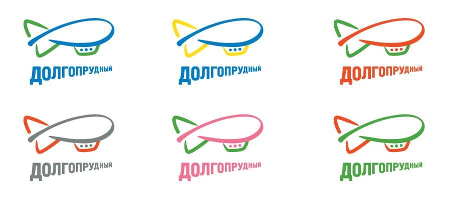 Вариации логотипа Долгопрудного